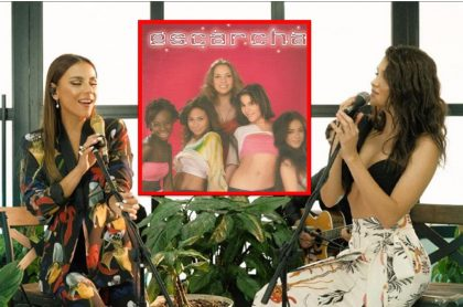 Carolina Gaitán cantó con Marian Gómez de 'La reina del flow' y con Isa Mosquera, ex Pop Star