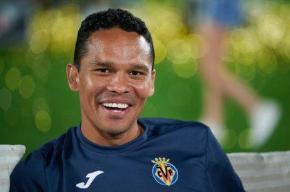 Carlos Bacca, reciente campeón de la Europa League con el Villarreal.