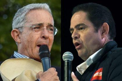 Álvaro Uribe y Germán Vargas Lleras, en momentos diferentes, políticos a los que atribuyen el diseño de la nueva reforma tributaria