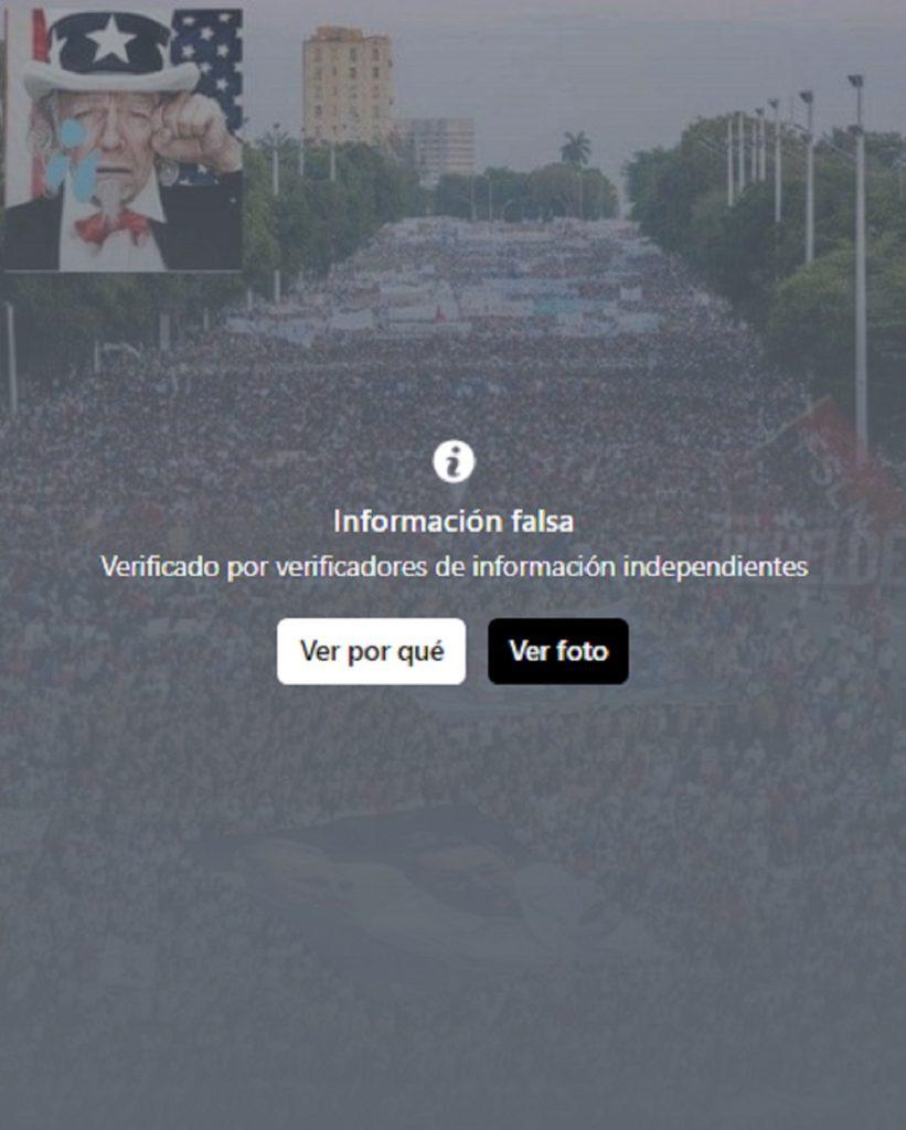'Fake news' sobre Cuba