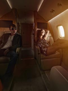 Imagen que ilustra información sobre servicios sexuales que ofrecen en aviones en Medellín