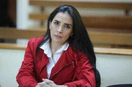 Aída Merlano, excongresista prófuga de la justicia, de la que Diosdado Cabello asegura que la iban a secuestrar