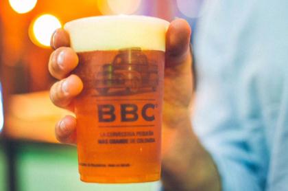 Foto de cerveza de Bogotá Beer Company, en nota de quiénes son los dueños de Bogotá Beer Company y qué relación tiene con Bavaria.
