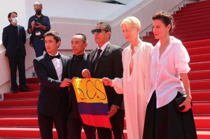 El estreno de 'Memoria' recibió 7 minutos de ovación en el Festival de Cannes
