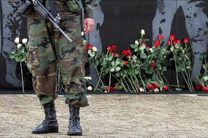 Imagen de un militar, que ilustra información sobre imputación de la JEP a 15 integrantes del Ejército por 'falsos positivos'
