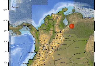 La madrugada de este viernes se registró un fuerte temblor en Mérida, Venezuela.