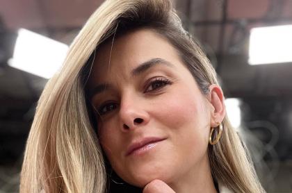 Catalina Gómez, presentadora de Día a día