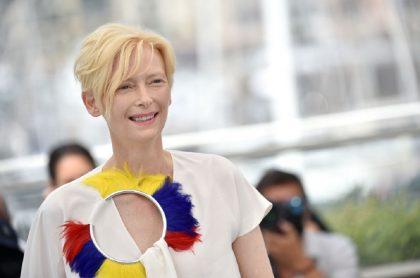 Cannes 2021: Imagen de Tilda Swinton, que dice que fue un honor grabar en Colombia