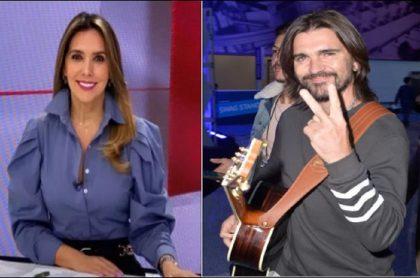 Mónica Rodríguez, presentadora de noticias, comentó trino de Juanes sobre el comunismo en Cuba