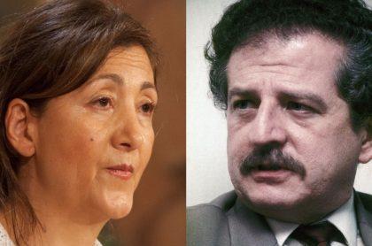 Íngrid Betancourt y Luis Carlos Galán Sarmiento.