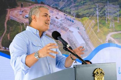 Iván Duque, presidente de Colombia, que tendría nuevas facultades con reforma tributaria.