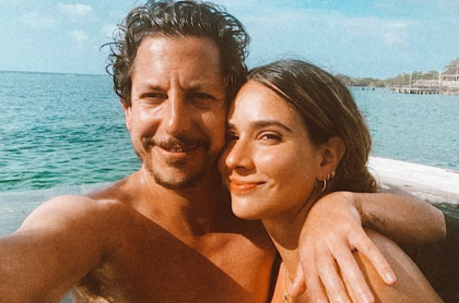 Alejandro Riaño y su esposa, en reacción de Marialejandra Manotas que lo defiende por comentarios en contra por Feria Buró.