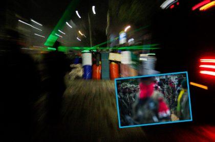 Imágenes que ilustran vandalismo en paro nacional y supuesta financiación del ELN.