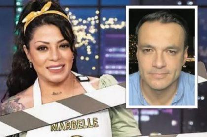 Marbelle, de 'Masterchef' (RCN), habló con Juan Diego Alvira (Caracol) en Instagram sobre el escándalo con Alicia Machado.