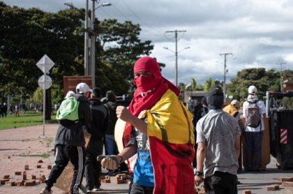 Paro nacional 20 de julio: vías cerradas en Bogotá por marchas