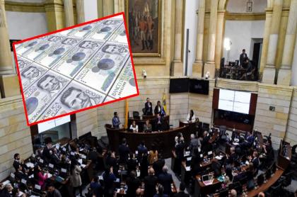 Imagen que ilustra el salario de los Congresistas en Colombia.
