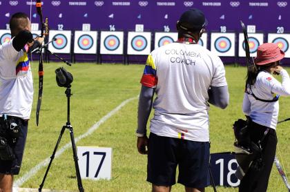 Programación, colombianos en Juegos Olímpicos Tokio 2021; viernes 23 de julio. Imagen de tiro con arco.