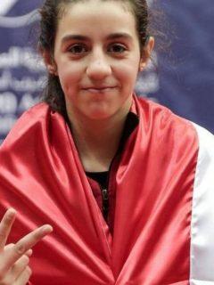Hend Zaza, niña siria de 12 años, la atleta más joven de los JJ. OO. de Tokio