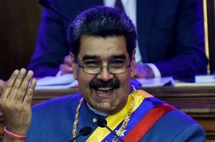Imagen de Maduro que ilustra nota; Régimen de Nicolás Maduro estalla contra Colombia e Iván Duque