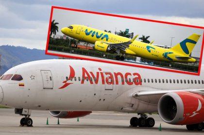 Pelea de Avianca y Viva Air sobre la compra de unos aviones.