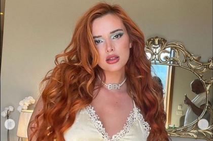 Bella Thorne, actriz de cine para adultos, a la que modelos colombianos acusan de perjudicarlos en OnlyFans