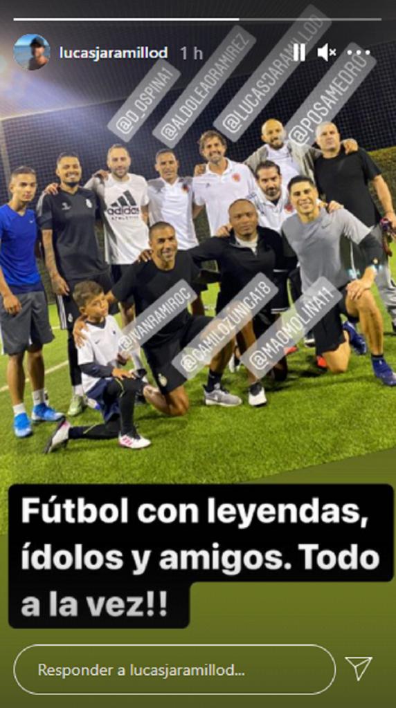 Tomada de Instagram @lucasjaramillod