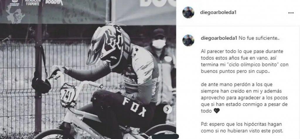 Mensaje de Diego Arboleda