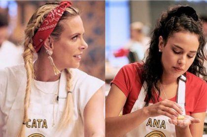"""Ana María Estupiñán habló sobre sus excompañeros de 'Masterchef' (Canal RCN) y calificó de """"impredecible"""" a Catalina Maya, mientras que elogió a Marbelle."""
