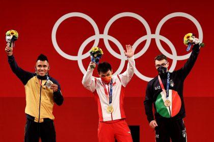 La fortuna que ganó Luis Javier Mosquera por ser medallista de plata en los Juegos Olímpicos de Tokio 2020.