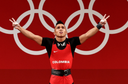 Foto de Luis Javier Mosquera, en nota de trauma de infancia del deportista que venció.