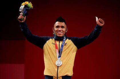 Falcao y Shakira mandaron felicitaciones directas a Luis Javier Mosquera, JJOO