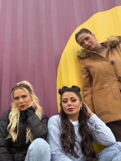 Carla Giraldo, Catalina Maya, Marbell y Viña Machado en nota sobre quién les puso el apodo de 'cuatro babys', en 'Masterchef Celebrity'