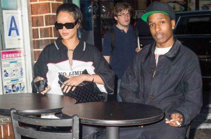 Fotos de Rihanna y ASAP Rocky en cita en Nueva York.