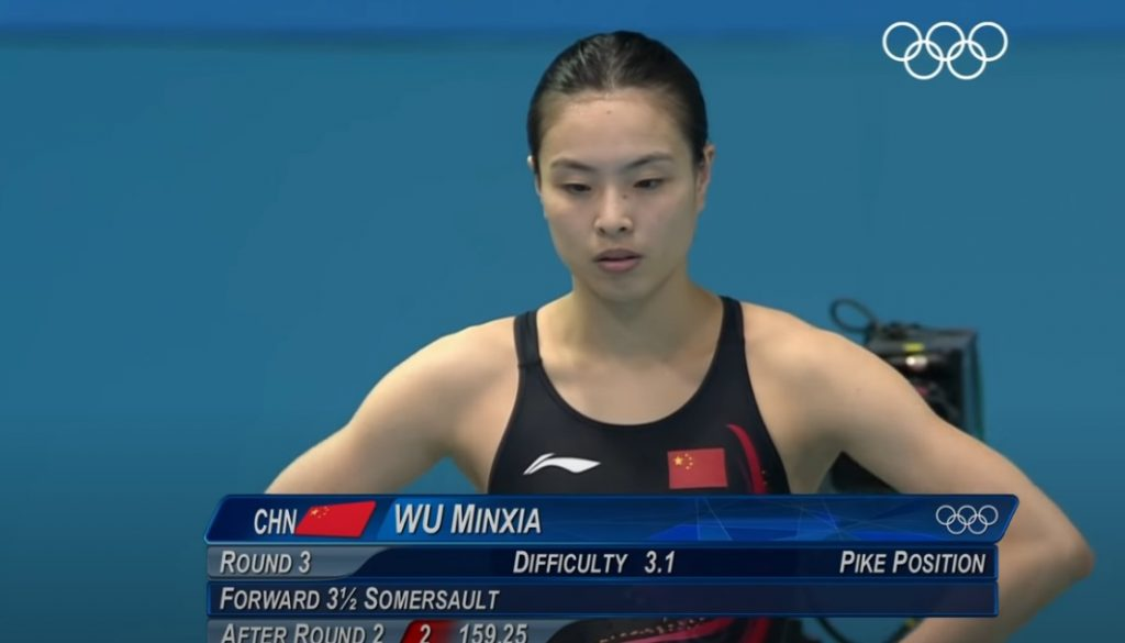 Wu Minxia, medallista olímpica china