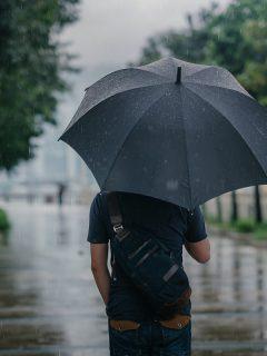 Imagen de lluvia que ilustra nota; ¿Por qué está haciendo tanto frío en Bogotá? Ideam explica