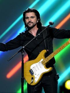 Juanes, cantante colombiano que desmintió mensaje contra 'primera línea'.