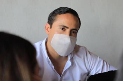 El senador Richard Aguilar, de Cambio Radical.