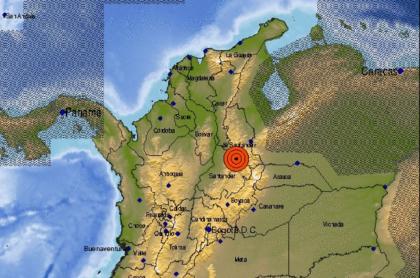 Temblor en Colombia hoy 28 de julio de 2021, fue de 4,4 grados y se sintió en Medellín.