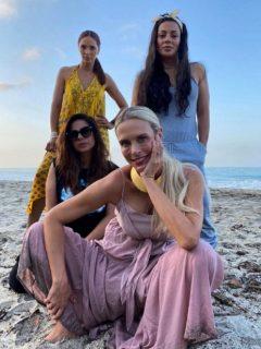 Catalina Maya, Marbelle, Carla Giraldo y Viña Machado está sorprendidas por lo que sale en el Canal RCN (Masterchef)