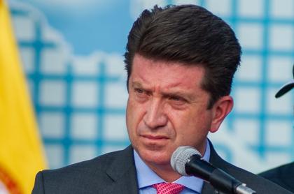 Ministro de Defensa, Diego Molano, que dijo que ahora hay tres Farc