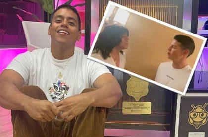 James Rodríguez actuó en los dos últimos videos que 'El Mindo', Armando Ortiz, publicó en su cuenta de Instagram.