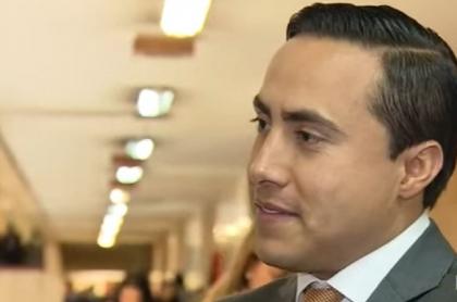 Richard Aguilar, senador de Cambio Radical que fue capturado por presuntos actos de corrupción cuando fue gobernador de Santander