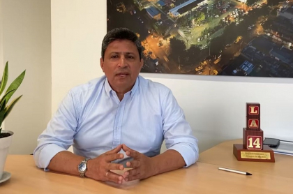 Gerente de Almacenes La 14, Luis Eduardo Pérez, habla de plan con Bancóldex para no cerrar los almacenes