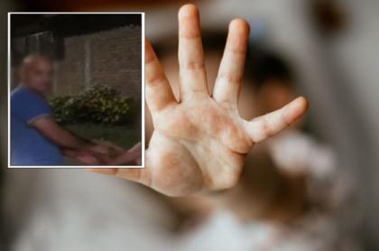 Imagen del hombre al que le reprochan por maltratar a un niño, en Pradera, Valle del Cauca