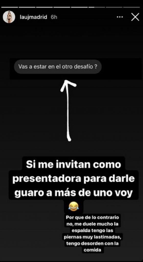 Historia de 'Madrid' en Instagram.