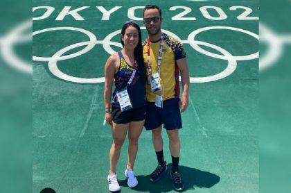 Mariana Pajón y Vincent Pelluard responden a los ataque que recibieron en redes