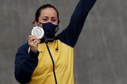 Imagen de Mariana Pajón, que ya supera en Juegos Olímpicos a 58 países; en medallas
