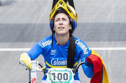 Mariana Pajón podría dejar del BMX y competir en el ciclismo de pista.