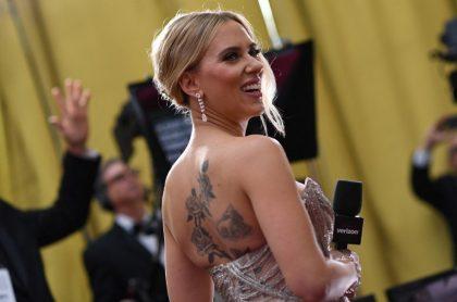 Scarlett Johansson, actriz que demandó a Disney.