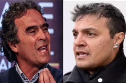 Sergio Fajardo y Julián Román, enfrentados en Twitter por una foto del político